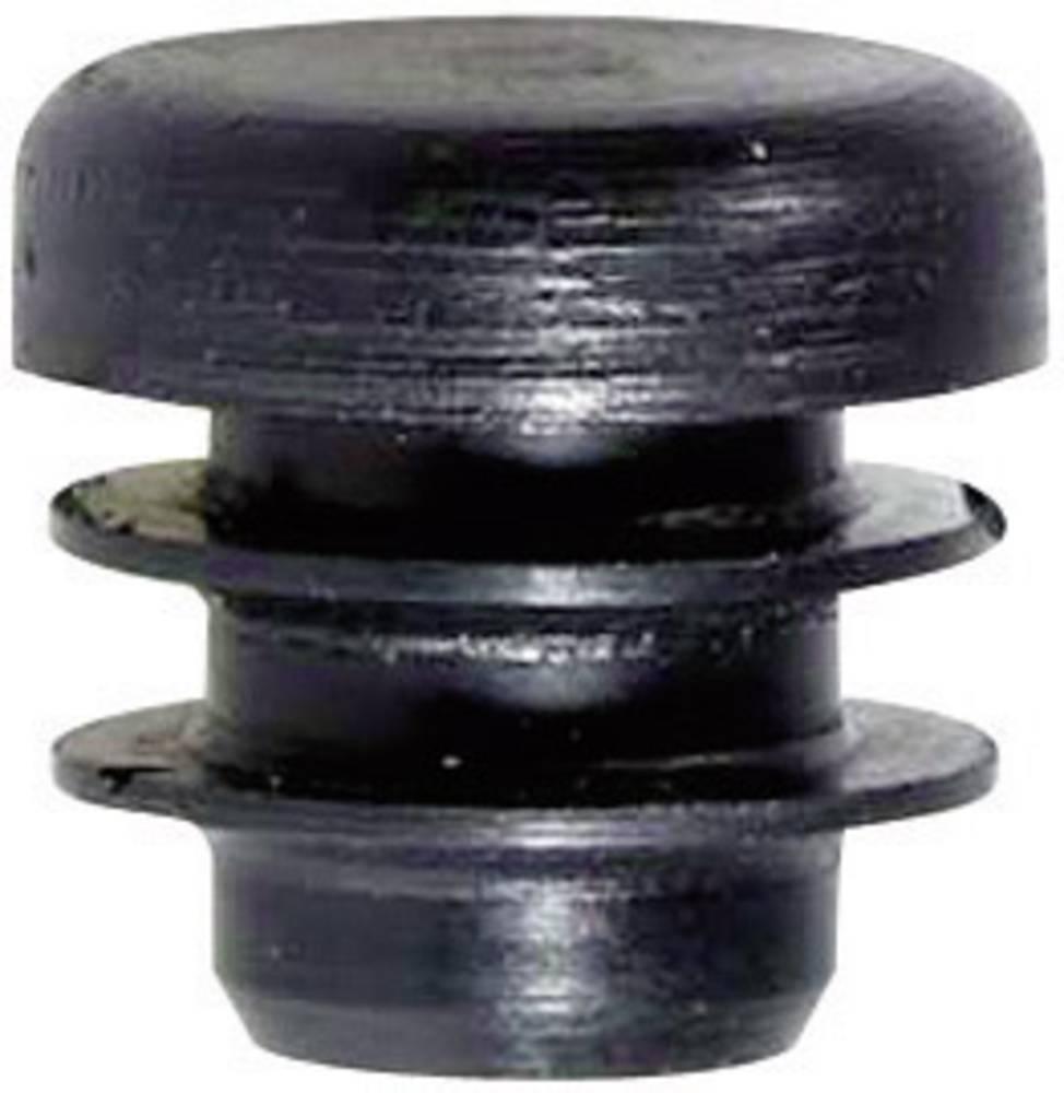 Lamelni čep polietilen črne barve PB Fastener 085 0180 699 03 1 kos