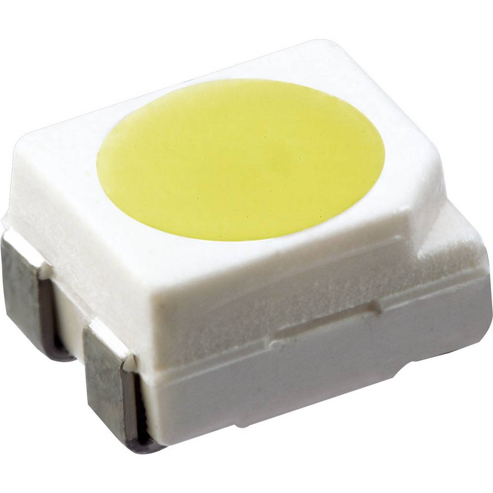 SMD-LED PLCC4 bela 1120 mcd 120 ° 30 mA 3.3 V OSRAM LW E6SG