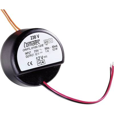 Comatec OR/FL/0150.12/E AC/DC PSU module 1.50 A 18 W 12 V DC open cable ends