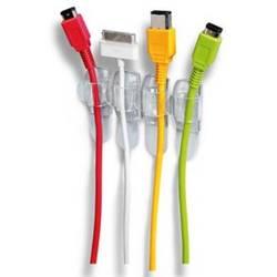 Sponka za kable samolepljiva transparentne barve 3M 19-5001-5869-6 17017CLR 4 kos