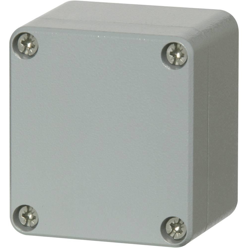 Universalkabinet 60 x 66 x 46 Aluminium Sølvgrå (RAL 7001, pulverlakeret) Fibox ALN 060605 1 stk