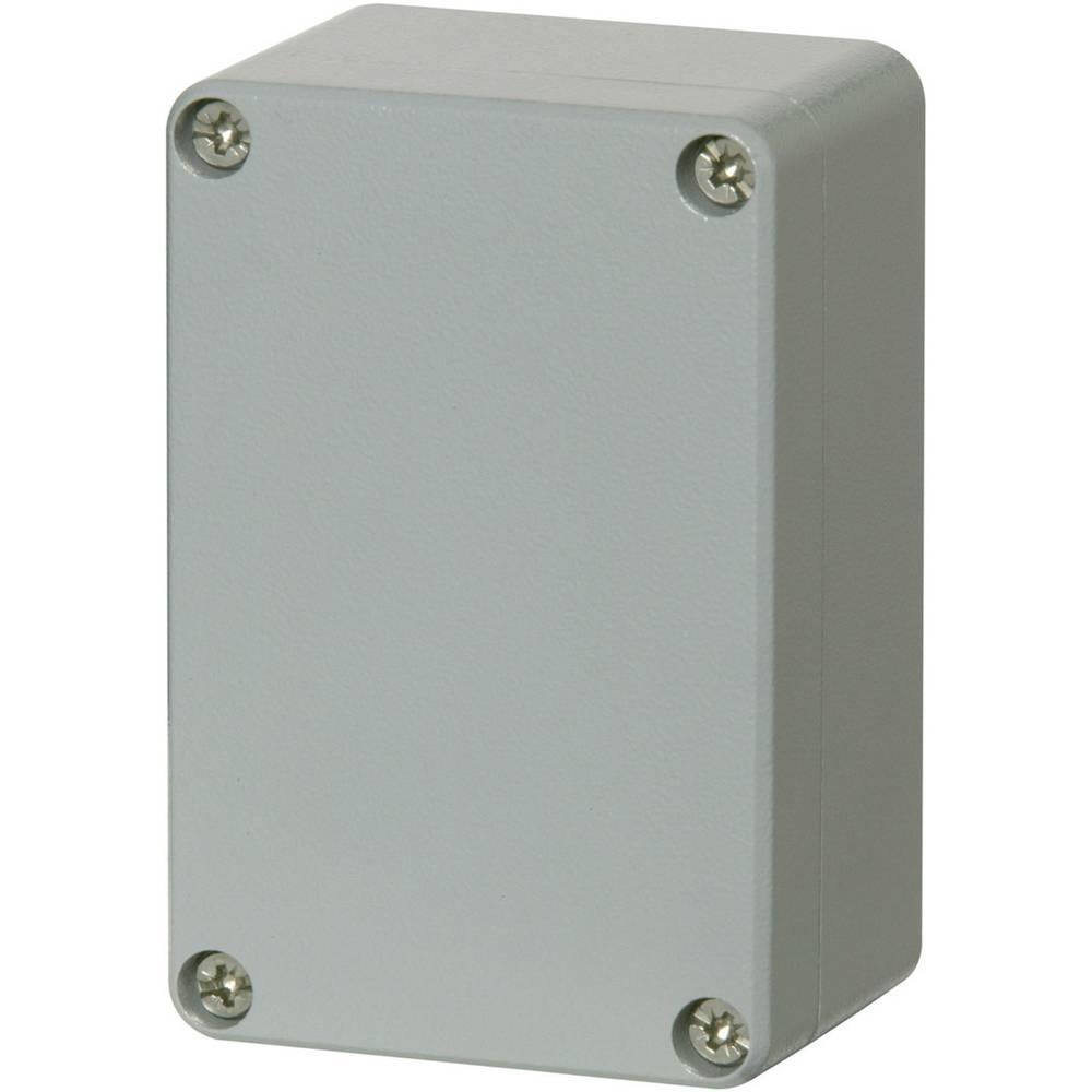 Universalkabinet 100 x 66 x 46 Aluminium Sølvgrå (RAL 7001, pulverlakeret) Fibox ALN 061005 1 stk