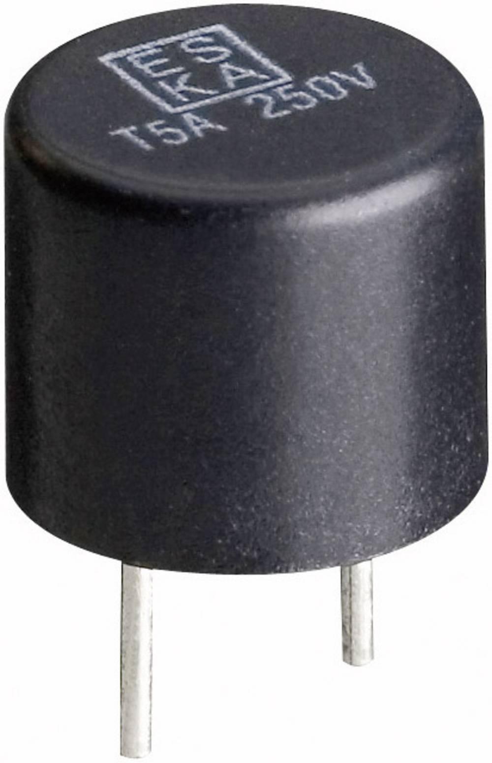 Mikrosikring ESKA 887016 800 mA 250 V rund Træg -T- med radial tråd 500 stk