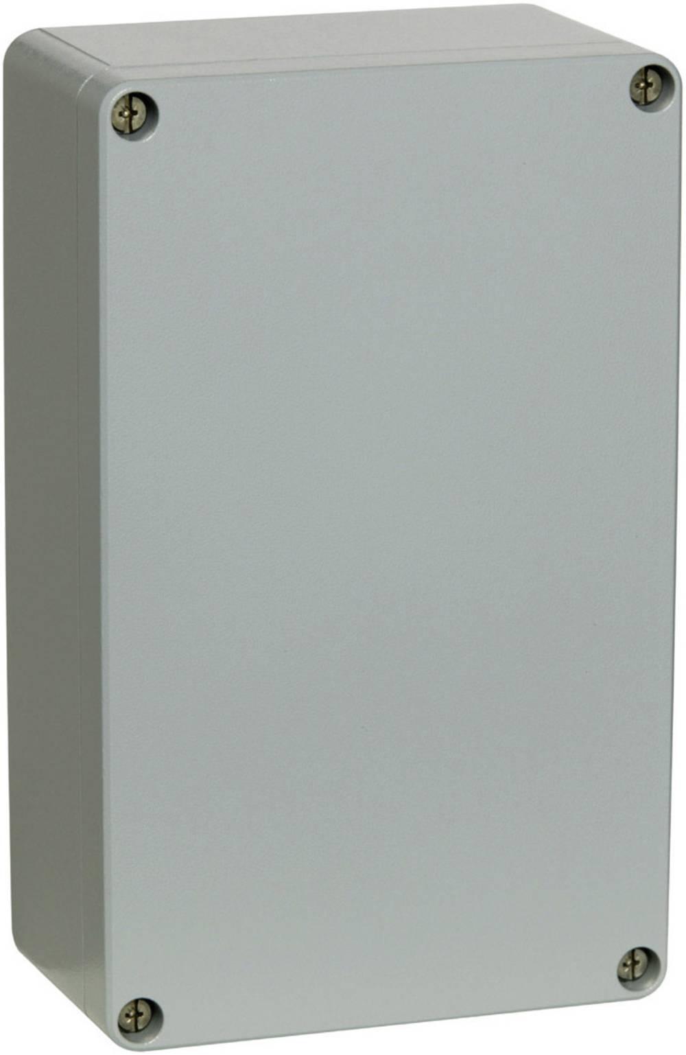 Fibox AL 082506-Univerzalno kućište, aluminij, srebrno sivo (RAL 7001), 252x81x56.5mm 7811190
