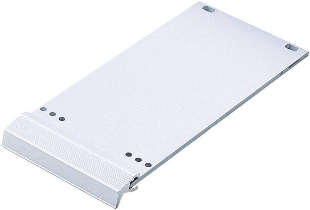 3 HE-prednja ploča 213.1 mm srebrna, mat, eloksirana