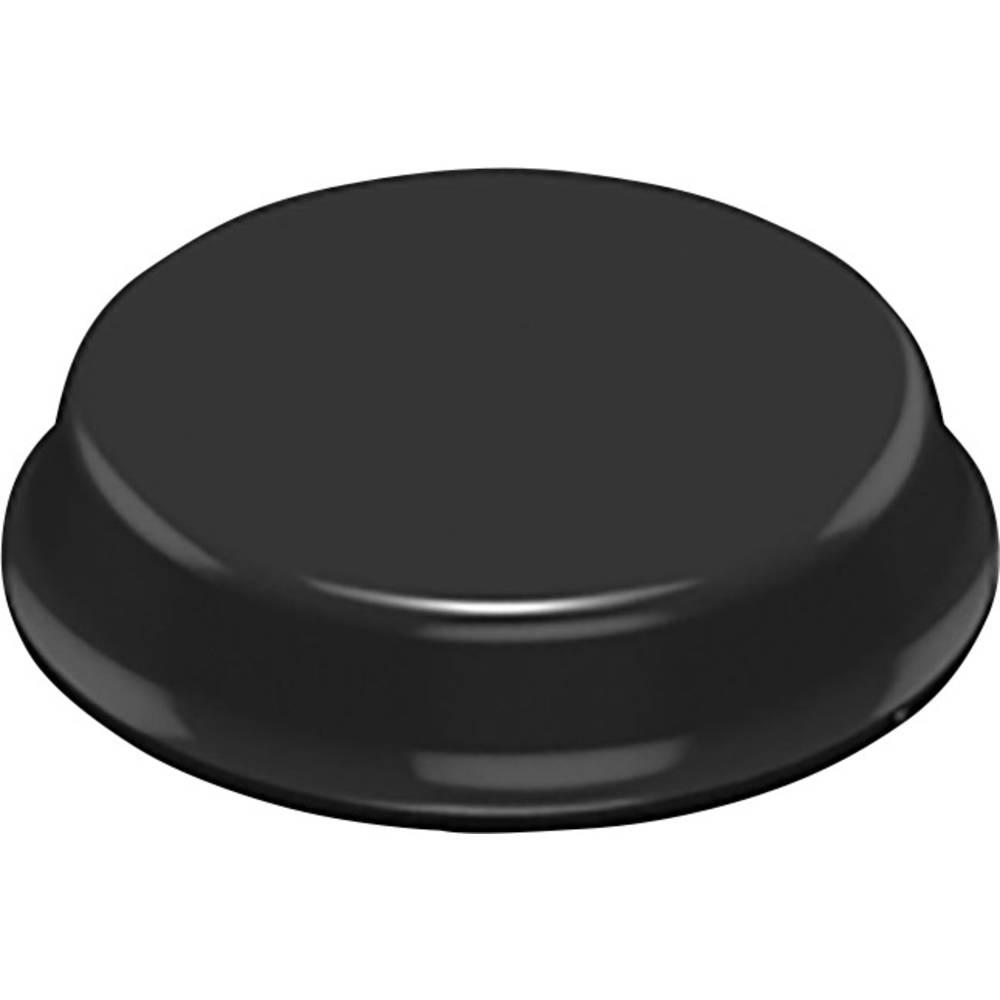 3M samoljepljivi elastični pufer SJ 6344 (O x V) 19 mm x 4 mm crni