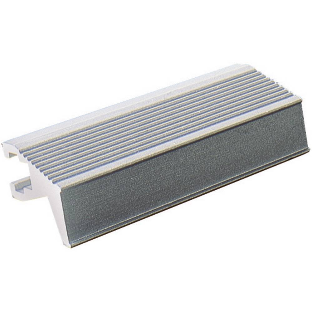 Listegreb Fischer Elektronik Grå (L x B x H) 60.5 x 14 x 12 mm 1 stk