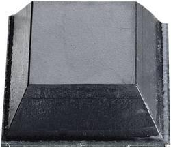 Slagbuffer 3M SJ 5023 Selvklæbende, Kvadratisk Sort (L x B x H) 20.6 x 20.6 x 7.6 mm 1 stk