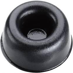 Chassisfod 3M SJ 5009 Selvklæbende, Rund Sort (Ø x H) 22.3 mm x 10.1 mm 1 stk