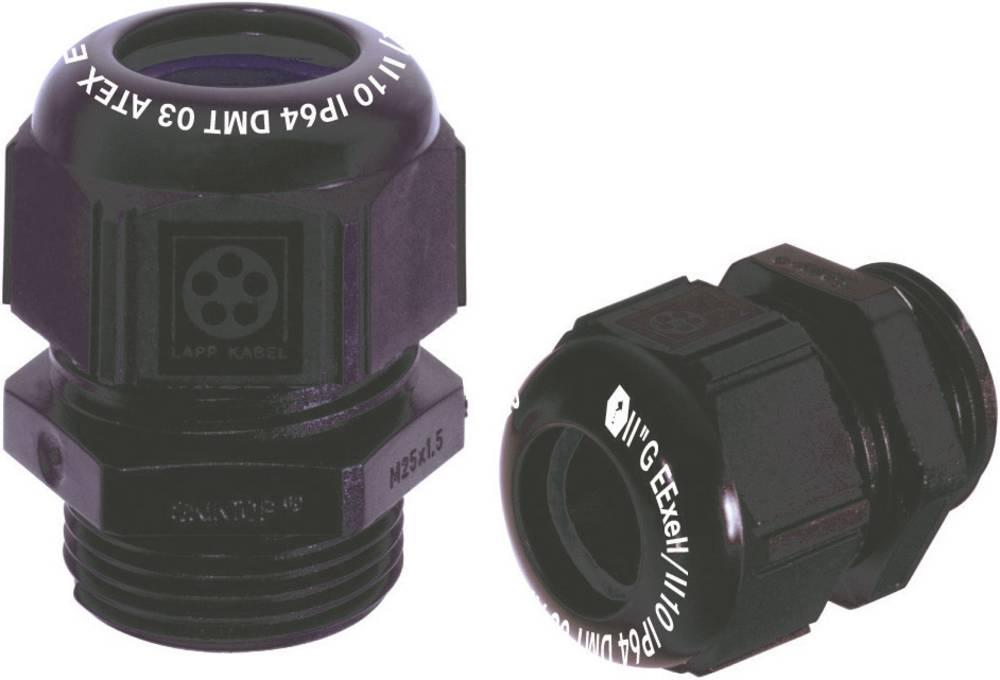 Kabelska uvodnica M20 poliamid črne barve (RAL 9005) LappKabel SKINTOP® K-M EEXE II ATEX 1 kos