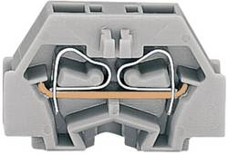 Enkelt klemme 5 mm Trækfjeder Belægning: L Grå WAGO 260-301 1 stk