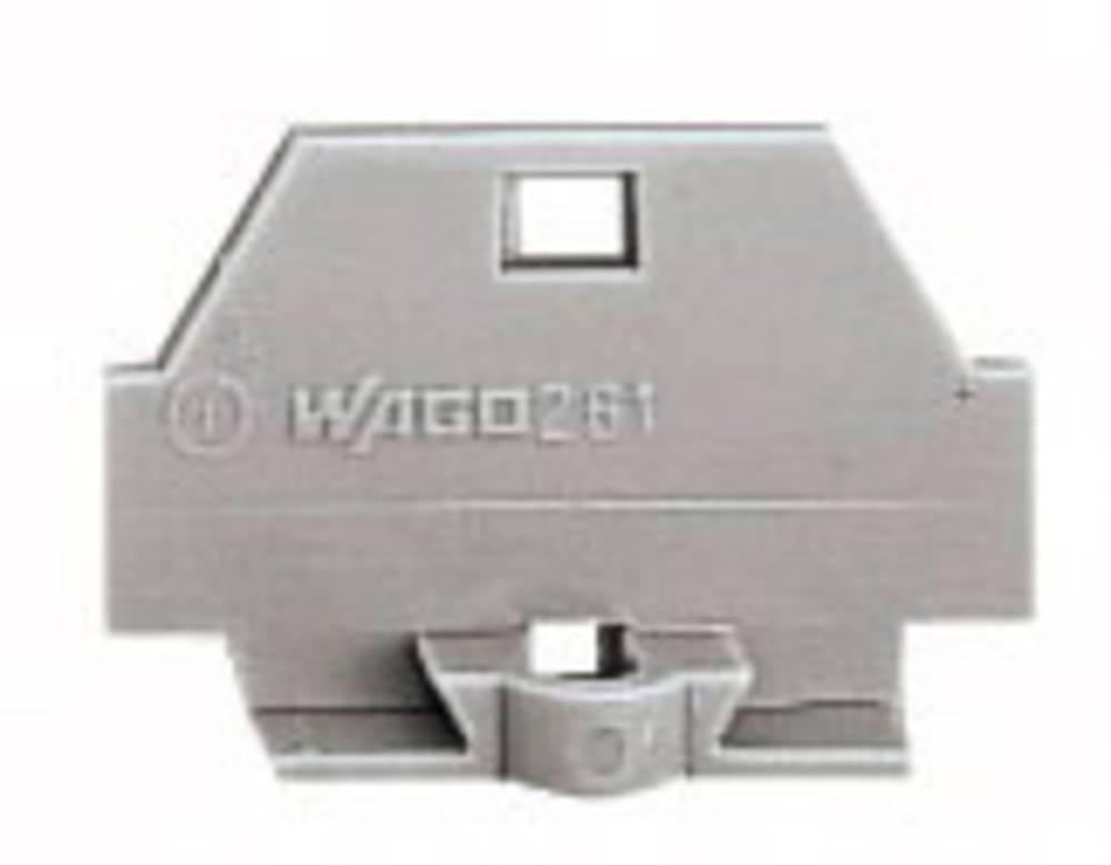 WAGO 260-361 Screwless Single Terminal - Grey
