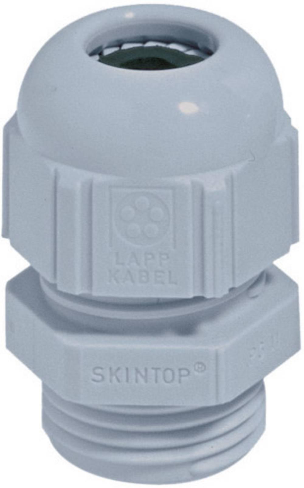 Kabelska uvodnica PG7 poliamid srebrno-sive barve (RAL 7001) LappKabel SKINTOP® ST PG7 1 kos