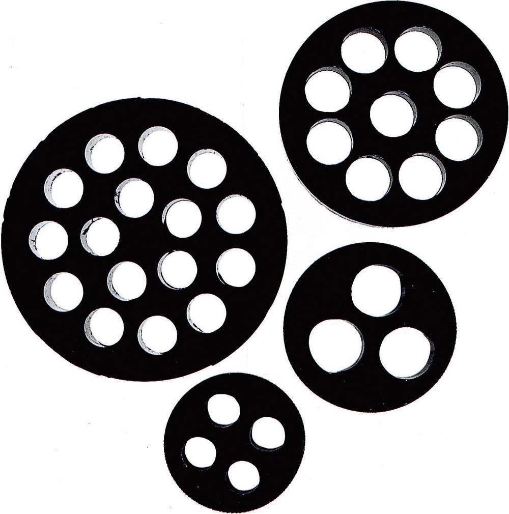 Višestruki brtveni umetak M20 nitril-butadien kaučuk, crne boje LappKabel SKINTOP® DIX-M20 1 kom.