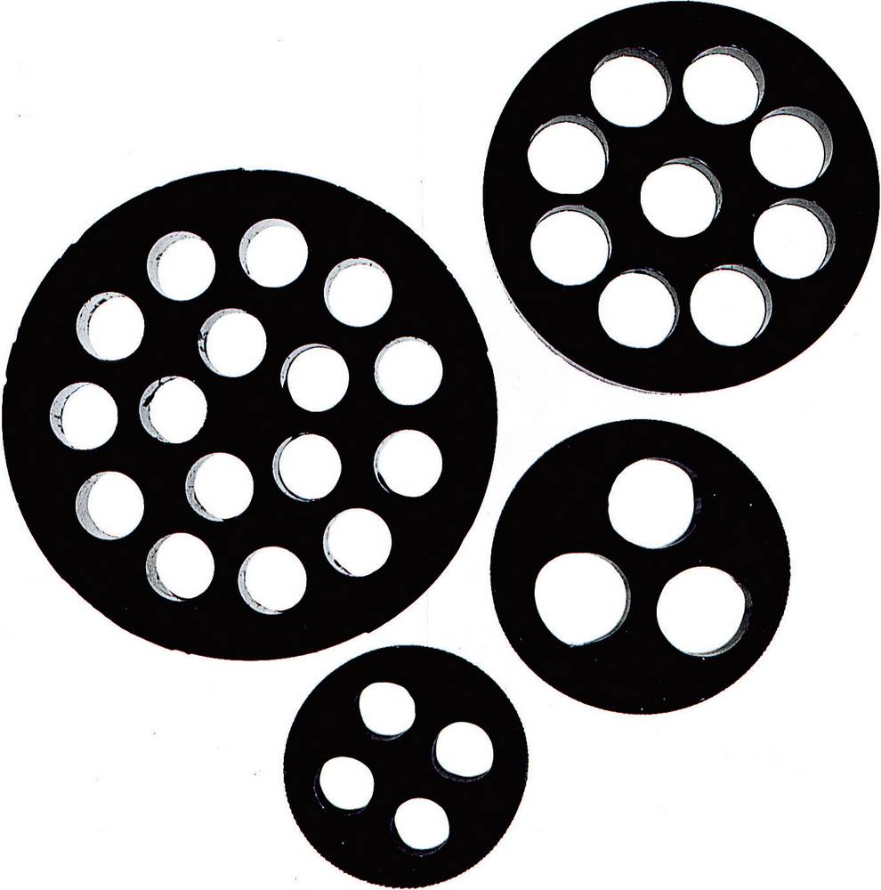 Multiforseglingsindsats LappKabel 53325350 Nitril-butadien-gummi M25 Sort 1 stk
