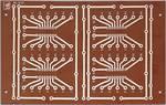 Rademacher VK C-910-HP IC Board WR-type 910 Designed for 4 16pin. IC's (DIL 16) (L x W) 160 mm x 100 mm HP with Cu.-plating