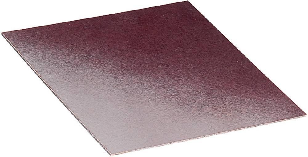Proma Hard paper mounting plate (L x W x H) 100 x 100 x 2 mm Brown