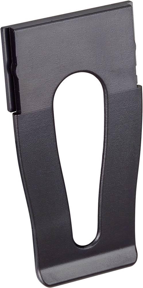 Strapubox kućište-Clips CL894SW ABS crna