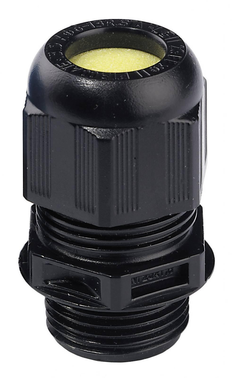 Kabelforskruning Wiska ESKE/1-L-e 25 M25 Sort (RAL 9005) 1 stk