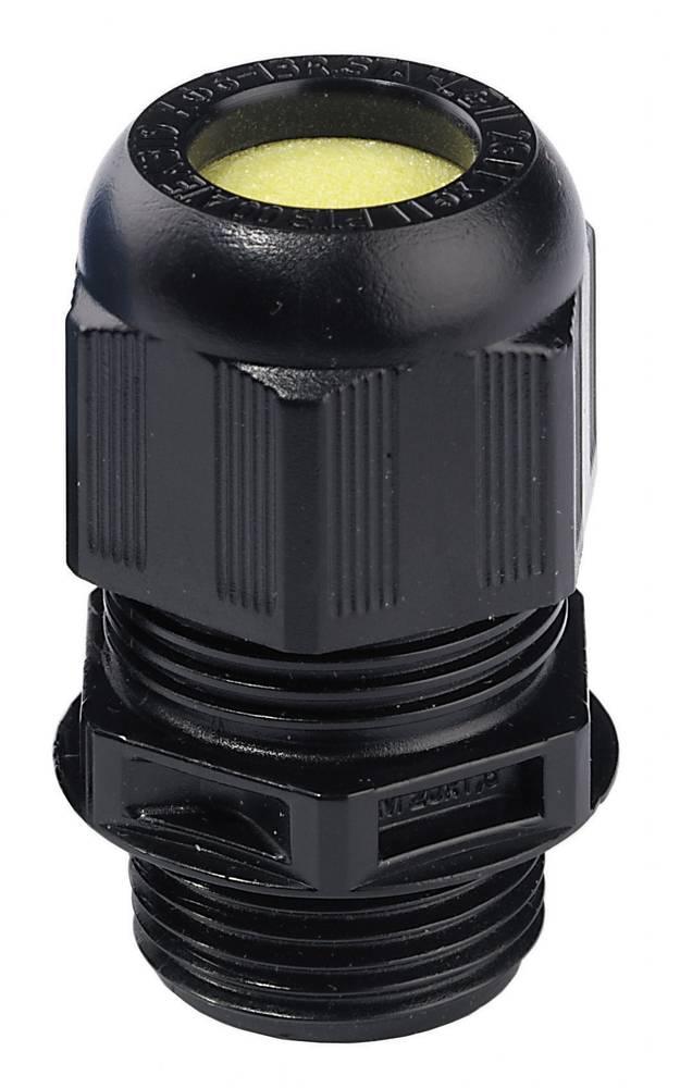 Kabelska uvodnica ATEX M16 črne barve (RAL 9005) Wiska ESKE/1-L-e 16 1 kos