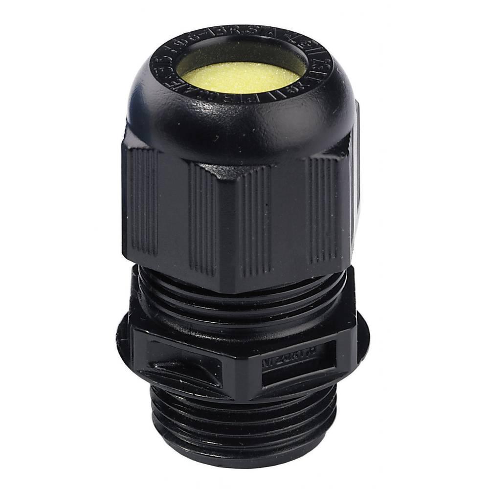 Kabelska uvodnica ATEX M25 črne barve (RAL 9005) Wiska ESKE/1-L-e 25 1 kos