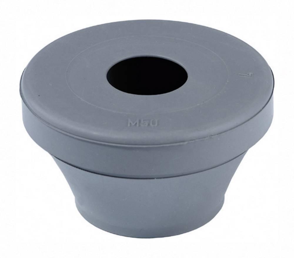 Tesnilni nastavek za speljavo kablov premer sponke (maks.) 28 mm srebrno-sive barve (RAL 7001) Wiska FD 40 1 kos