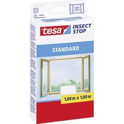tesa tesa ®  fluegitter Standard til vinduer (L x B) 1000 mm x 1000 mm Hvid Insektebekæmpelse og -fangere 55670-20 Inse