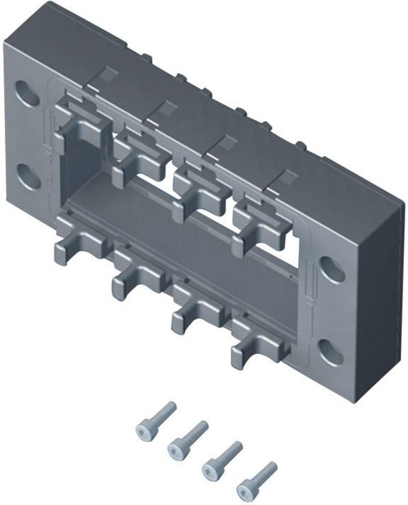 Rittal 2400910-Brtveni okvir za usmjeravanje kablova, 120x67x19mm, IP64. crn, 1 komad 2400.910