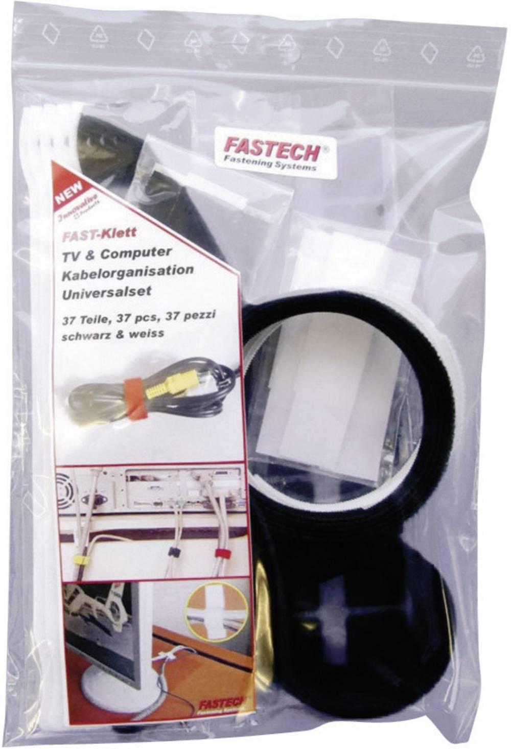 Sprijemalni trakovi/ježki za TV in računalnik Fastech 574, komplet 574-Set-Bag