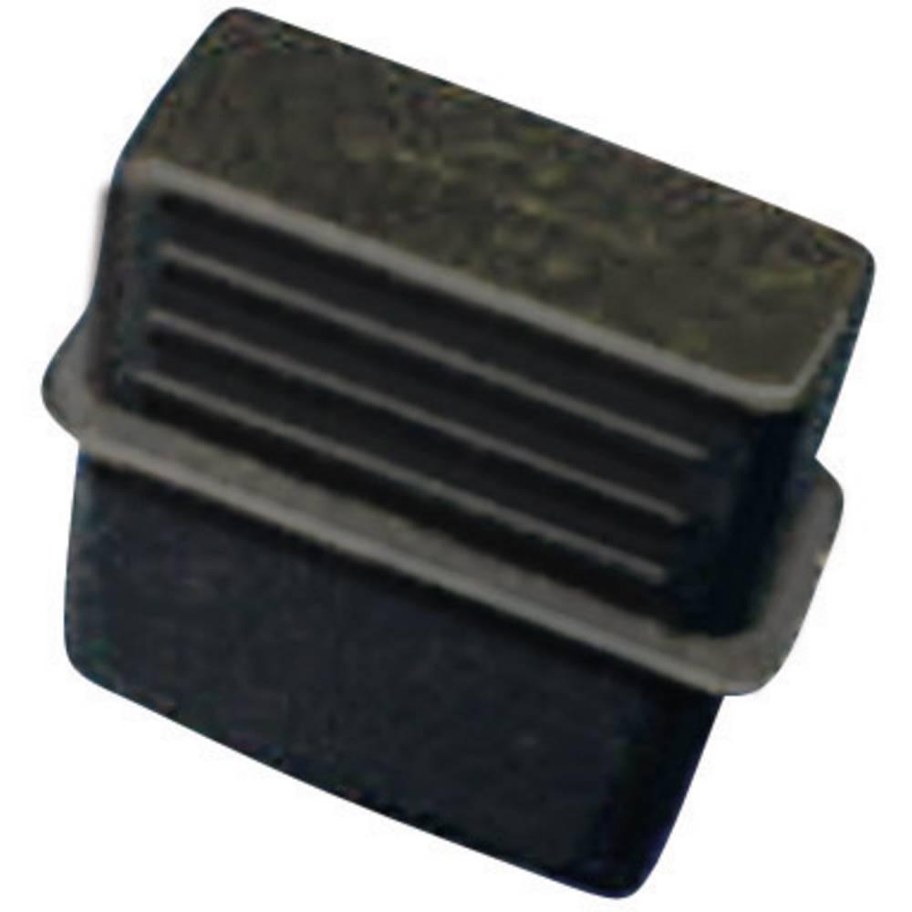 Pokrovček USB-A silikon, kavčuk črne barve Richco CP-USB-A 1 kos