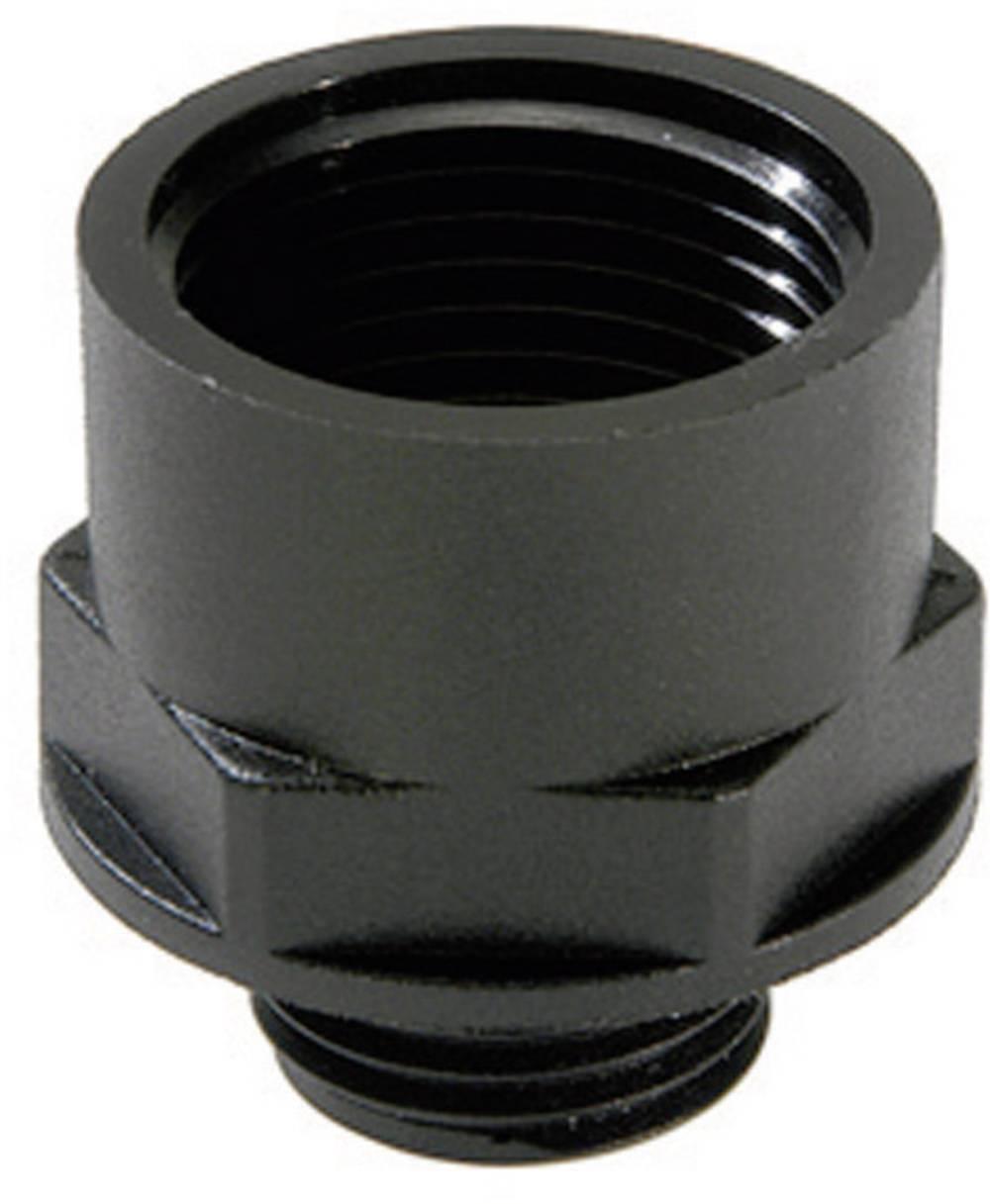 Kabelska uvodnica, podaljšek M16 M20, poliamid črne barve (RAL 9005) Wiska ATEX EX-KEM 16/20 1 kos