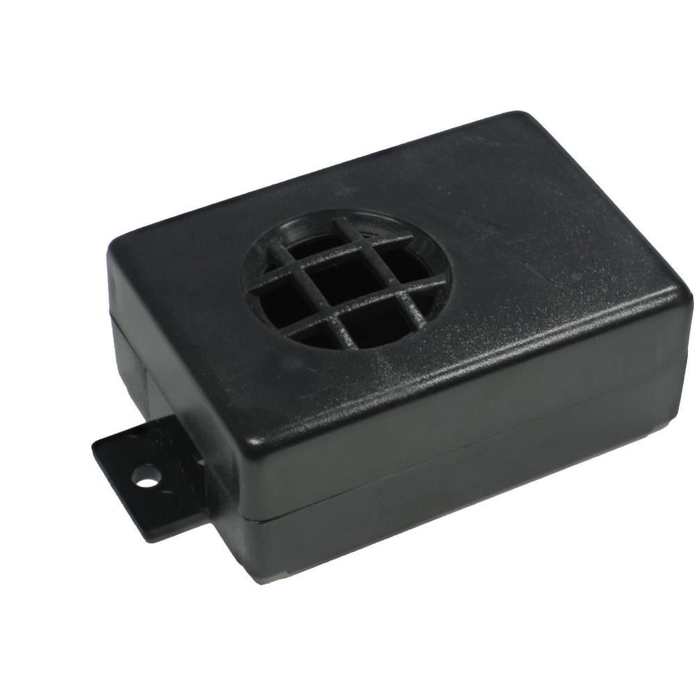 Kemo kućište za signalni uređaj od umjetne mase G020, (DxŠxV) 72 x 50 x 28 mm, crna