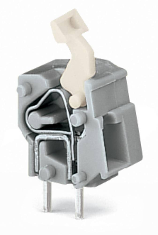 Fjederkraftsklemmeblok WAGO 2.50 mm² Poltal 1 Lysegrøn 400 stk