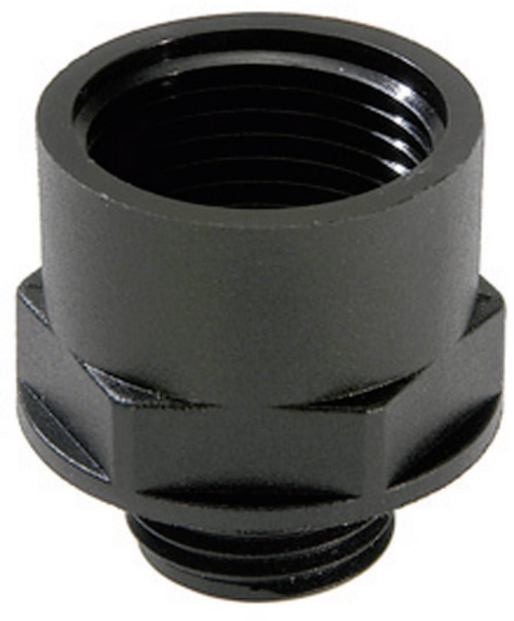 Adapter za kabelsko uvodnico PG16 M25, poliamid črne barve (RAL 9005) Wiska ATEX EX-APM 16/25 1 kos
