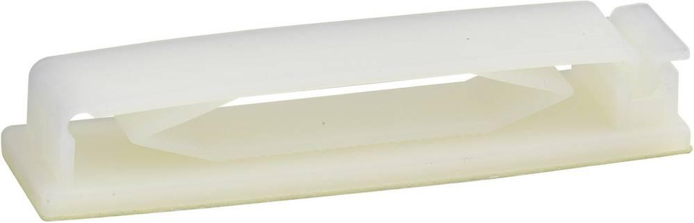 Pritrdilno podnožje, namestitev s privijanjem transparentne barve 531011 1 kos