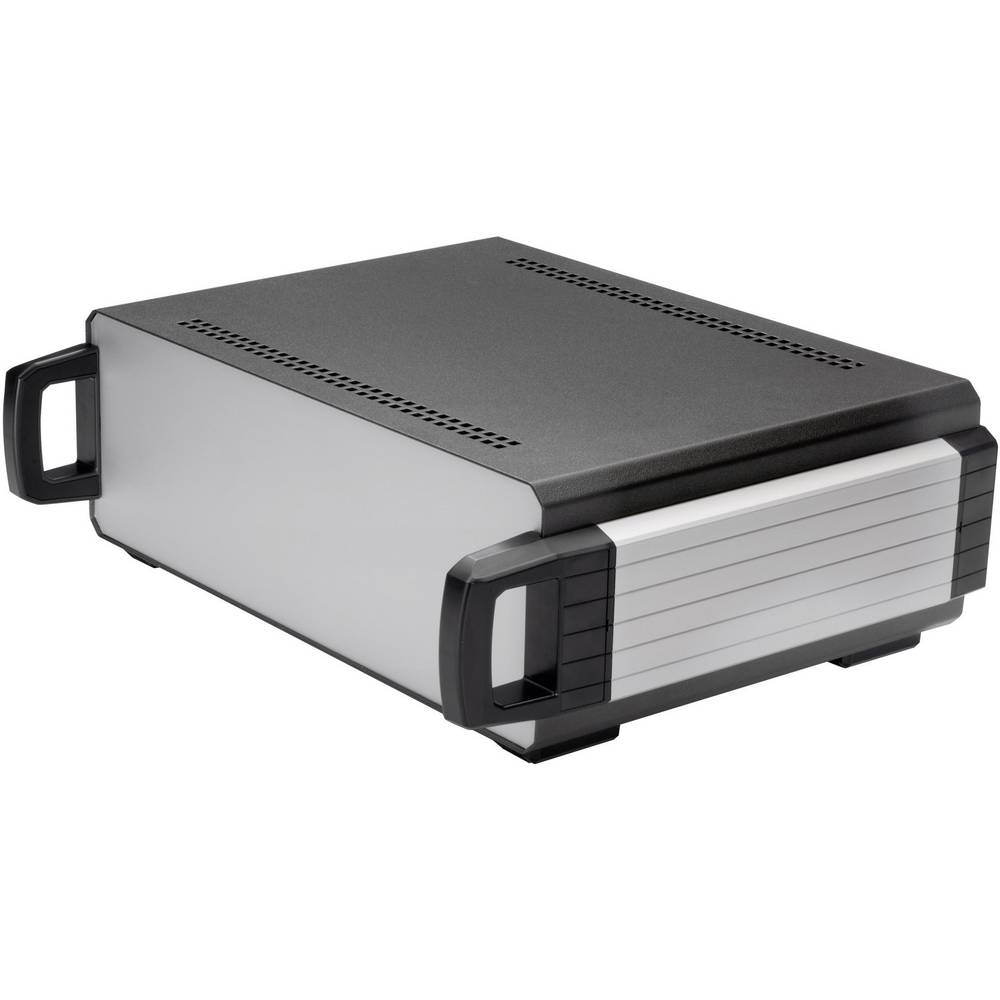 Axxatronic 31110007-CON-Stolno kućište, aluminij, antracit boje, 400x300x130mm
