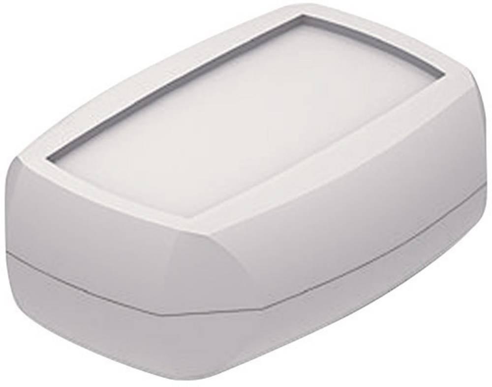 Axxatronic 33131003-CON-Modularno kućište, džepno, ABS svijetlo sivo, 70x50x20mm