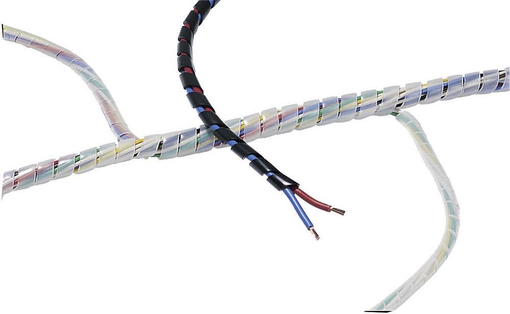 Spiralna cijev, pakirana, Opodručje snopa: 10 - 100 mm, natur, SBPE9-PE-NA-30M 161-41200 HellermannTyton