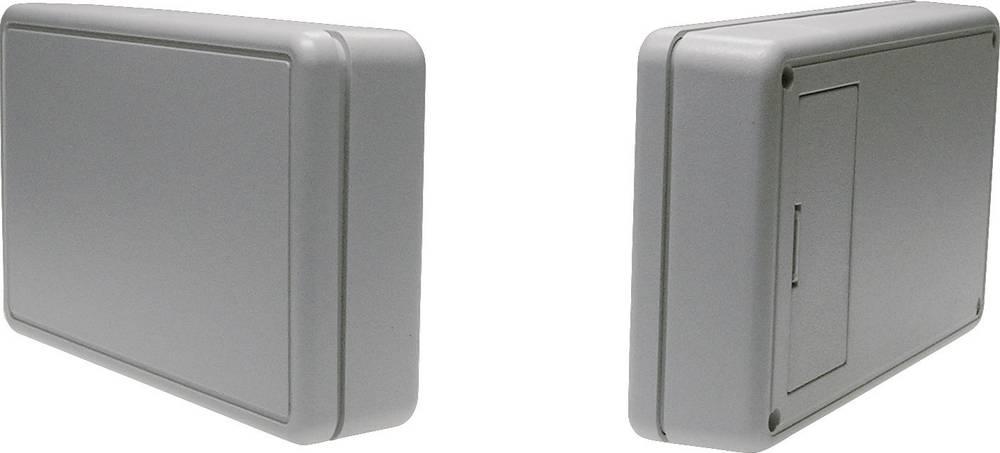 Strapubox Plastično kućište 6006 s pretincem za baterije 6006GR ABC plastika