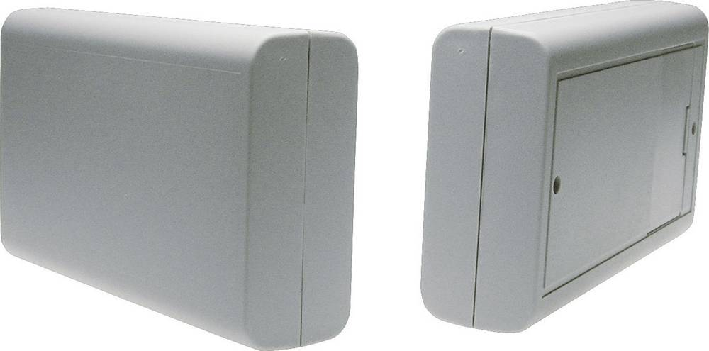 Strapubox kućište od umjetne mase 6512GR s prostorom za baterije, ABS plastika, (DxŠxV)