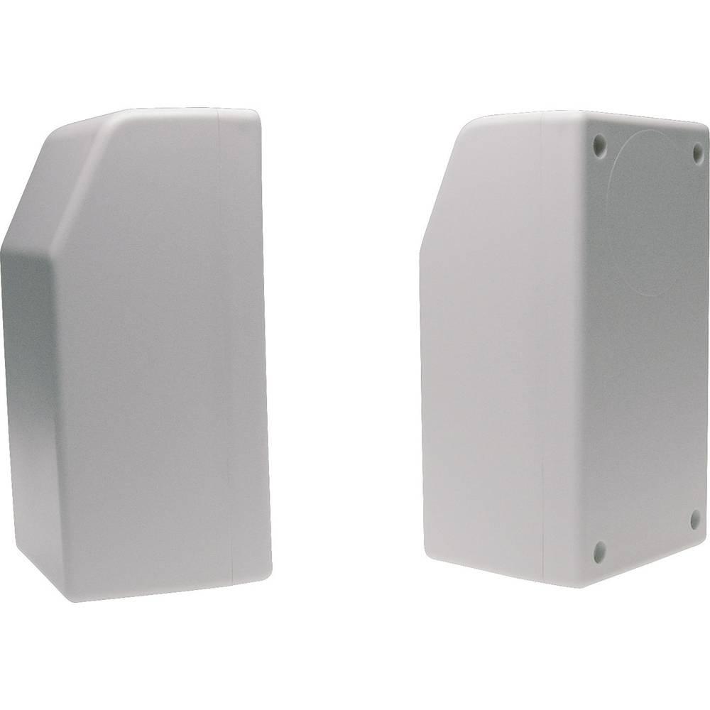 Strapubox kućište od umjetne mase 1110GR, ABS/PCVO, (DxŠxV)121 x 65 x 55 mm, siva