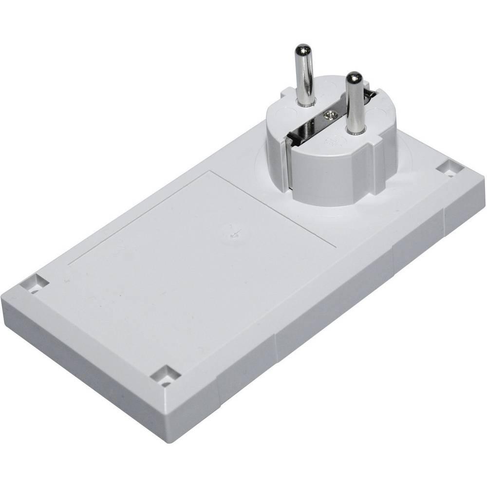 Utično kućište ESU 1200 Conrad polikarbonat, ABS svijetlosiva 125 x 67 x 50 E/CEE 1 kom.