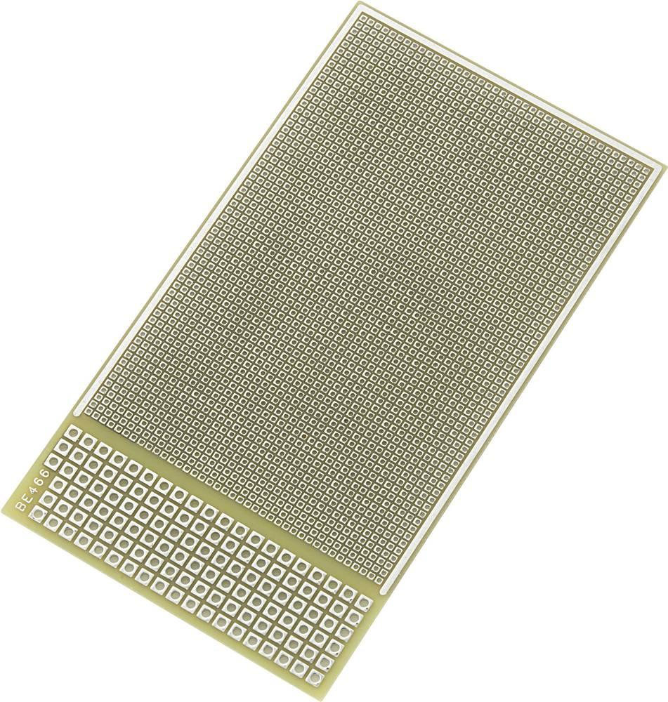 IC-printplade Epoxid (L x B) 95 mm x 53 mm 35 µm Rastermål 1.27 mm Conrad Components SU520884 Indhold 1 stk