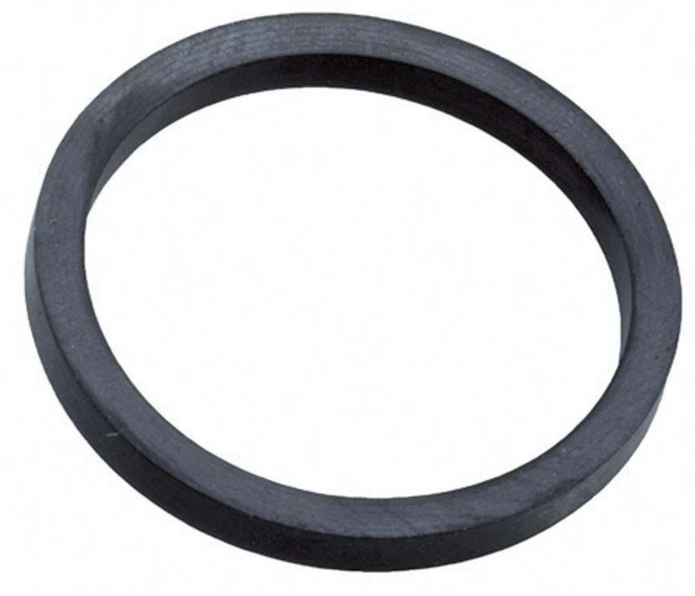 Tesnilni obroč PG16 etilen propilen dien-kavčuk črne barve (RAL 9005) Wiska ADR 16 1 kos