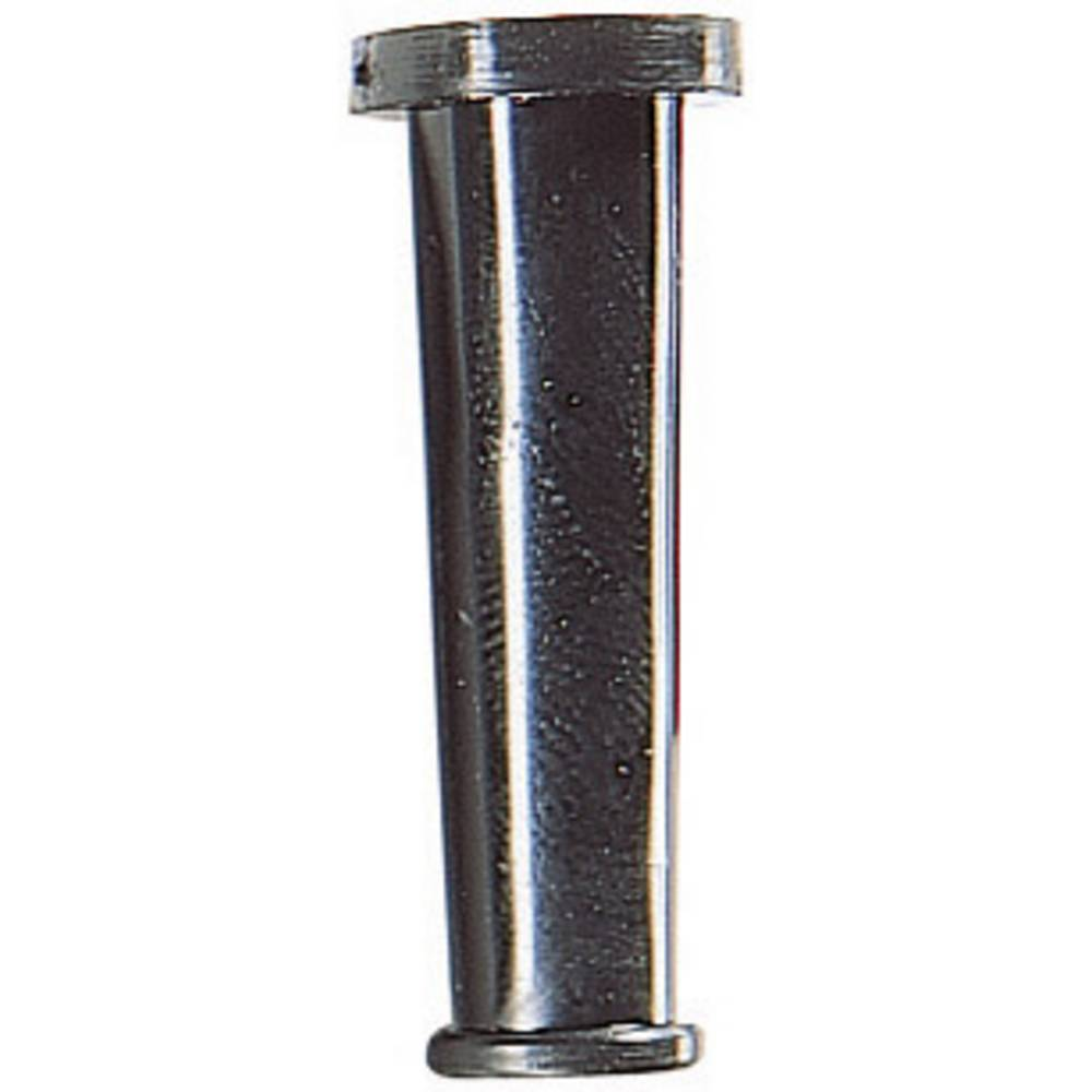 Tulec za zaščito ppregibanjem premer sponke (maks.) 5.3 mm PVC črne barve HellermannTyton HV2101A-PVC-BK-M1 1 kos