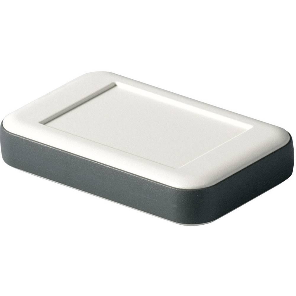 OKW D9050117-Zidno/stolno kućište, ABS sivo/bijelo, lava, 51x82x16mm