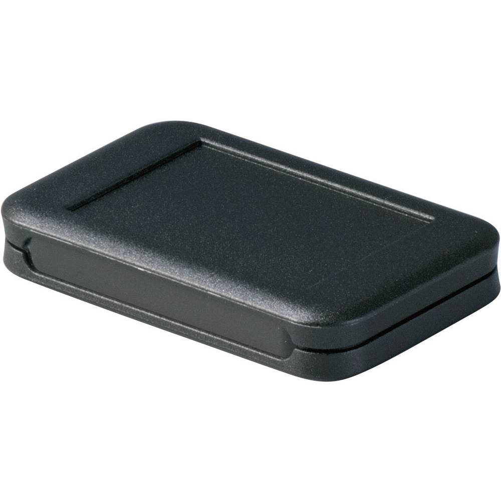 OKW D9050309-Zidno/stolno kućište, akrilno staklo, crno, 51x82x14mm