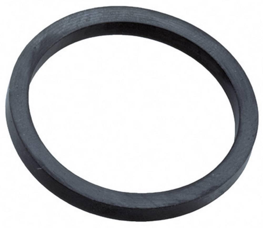 Tætningsring Wiska 10062801 Ethylen-propylen-dien-gummi M12 Sort (RAL 9005) 1 stk