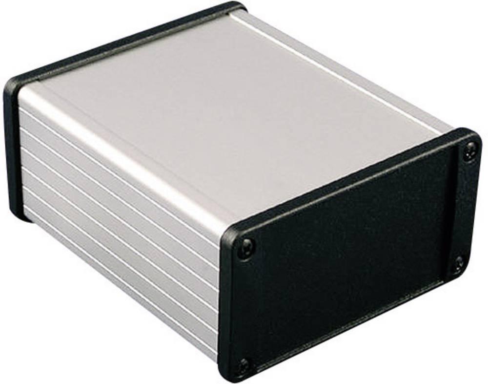 Universalkabinet 80 x 59 x 30.9 Aluminium Sort Hammond Electronics 1457C801BK 1 stk