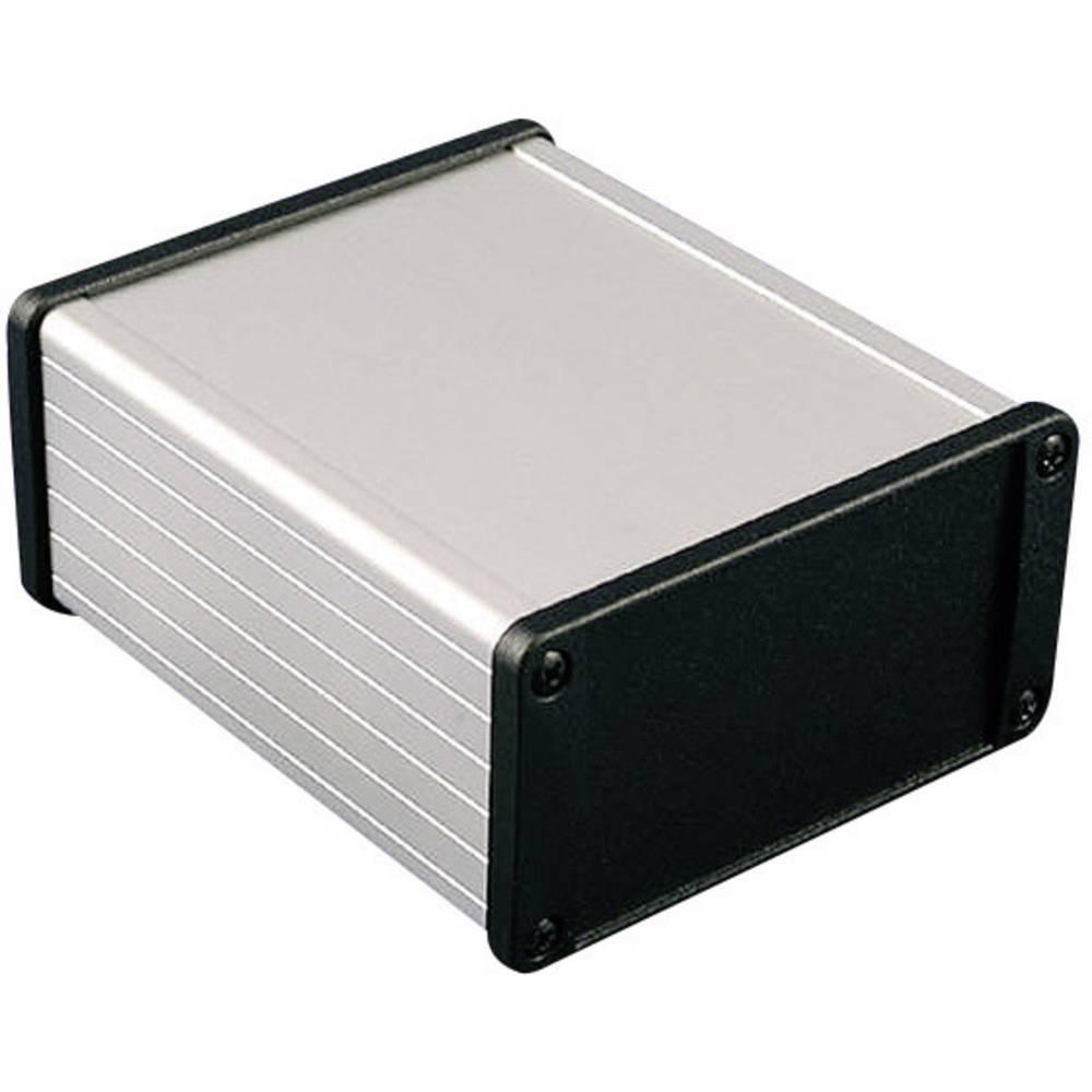 Universalkabinet 120 x 104 x 54.6 Aluminium Sort Hammond Electronics 1457N1201BK 1 stk